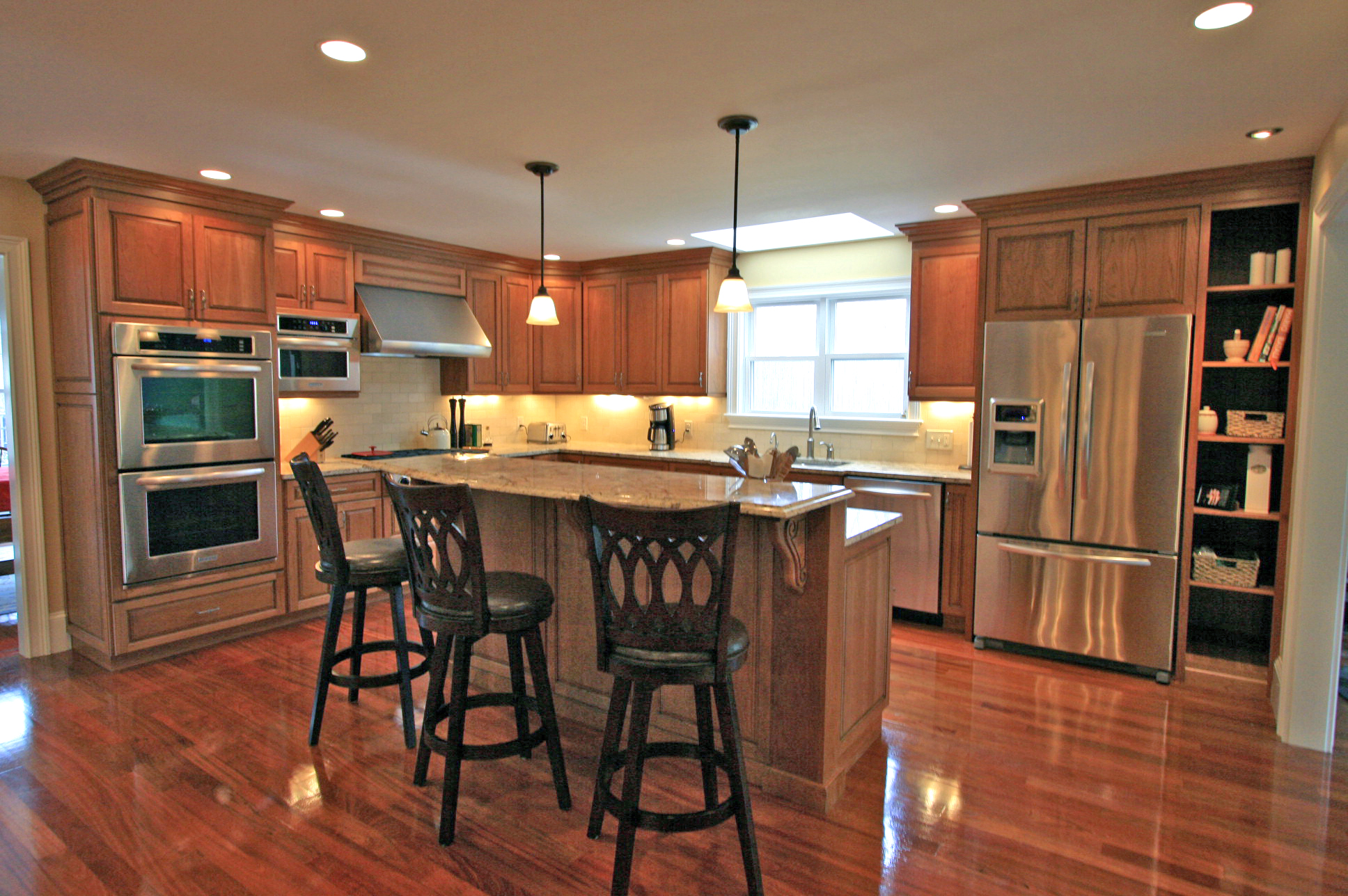 Check out the pics of new kitchens halliday construction for New kitchen remodel ideas