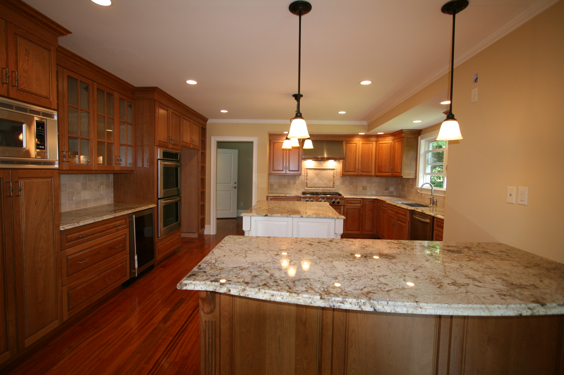 Check out the pics of new kitchens halliday construction for Pictures of new kitchens